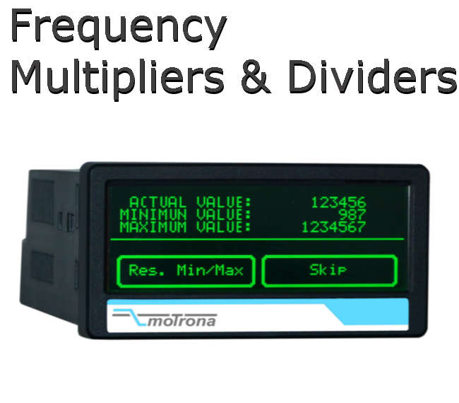 Motrona - Frequency Multipliers, Dividers