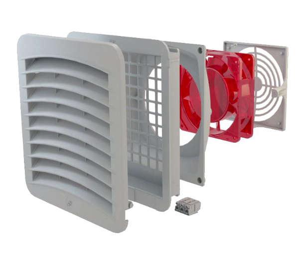 Duct Fan In An Enclosure : Quot enclosure filter fans gsv genesis automation