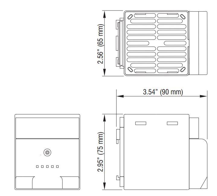 150w touch-safe cs028 ptc fan heater