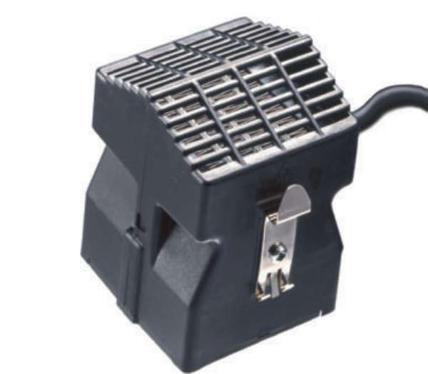 200 - 400W 60mm DIN Rail Enclosure Fan Heater