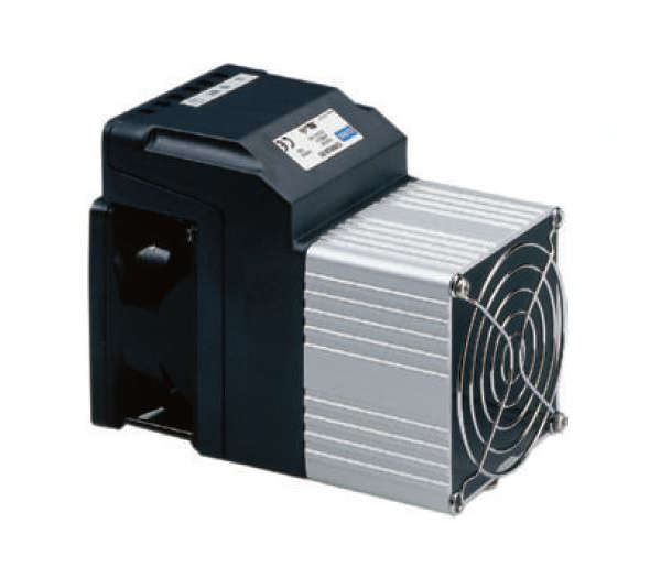 300 - 800W 80mm DIN Rail Enclosure Fan Heater
