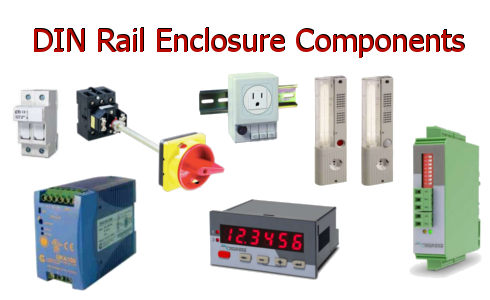DIN Rail Enclosure Components
