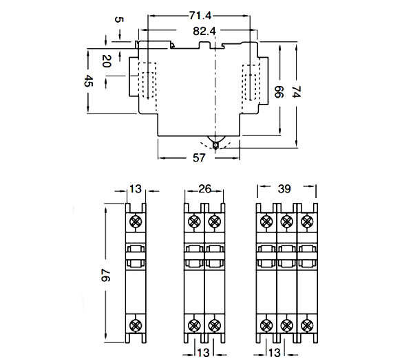 din rail mini circuit breakers