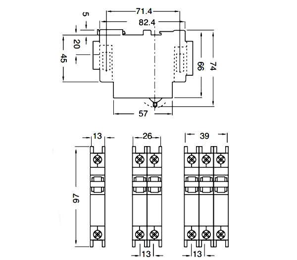 din rail mini circuit breakers