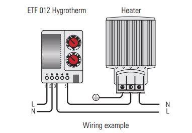 Enclosure Humidity Temperature Control Genesis Automation. Diagram Din Humidistat Thermostat Wiring Exle. Wiring. Wiring Diagram Humidity Controller At Scoala.co