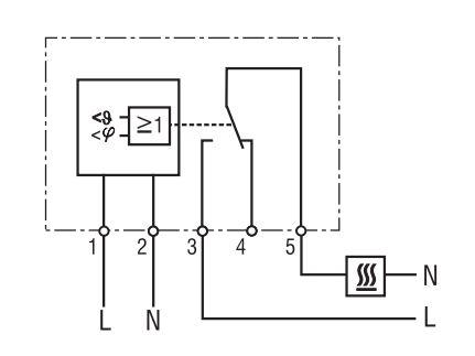 Enclosure Humidity Temperature Control Genesis Automation. Din Humidistat Thermostat Wiring Diagram. Wiring. Wiring Diagram Humidity Controller At Scoala.co