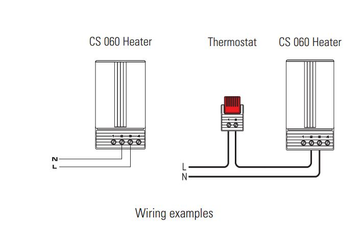 50  100  150w Cs 060 Ptc Heater