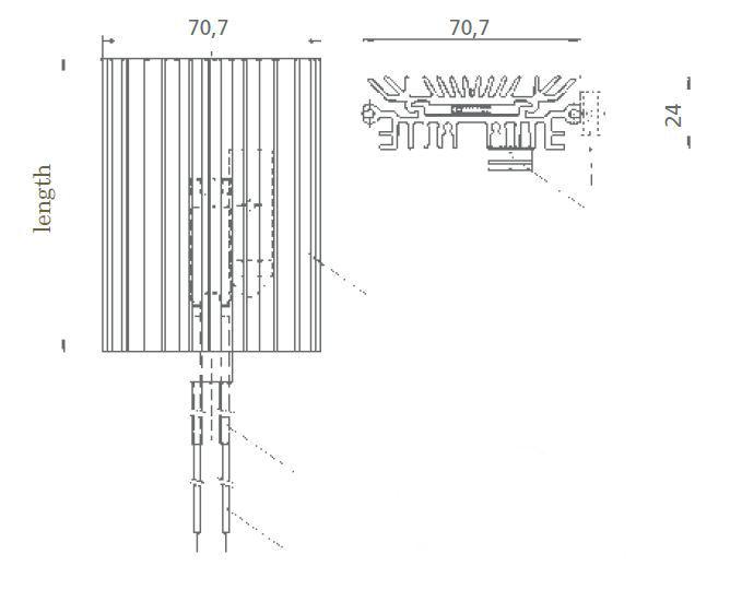 30-150w Nimbus Enclosure Heater